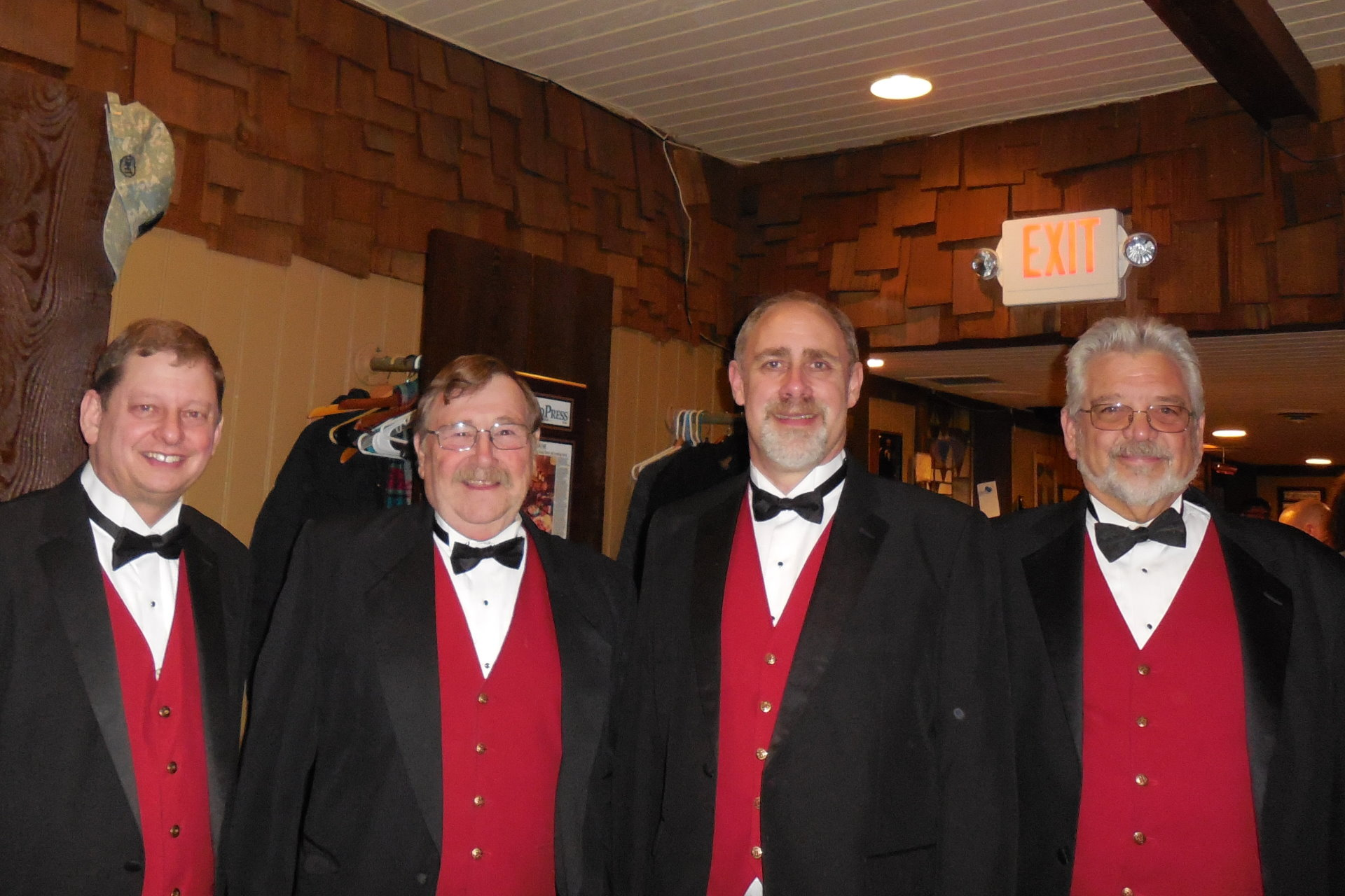 LIMITED EDITION Barbershop Quartet Big Chief Chorus